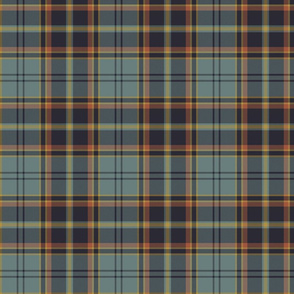 "Antrim Irish district tartan, 6"" weathered"