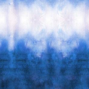Deep Blue Purple Ink Ripple Stripes