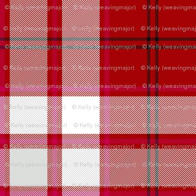 Cameron hose tartan - magenta stripe