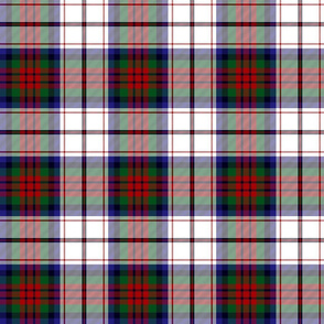 MacDuff dress tartan - red, blue, green, white