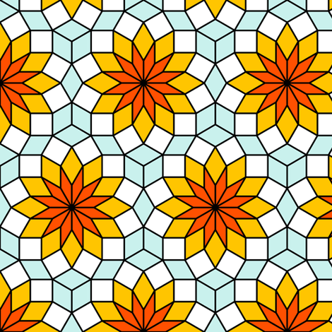 06518191 : SC3 V234R : time-stained glass fabric by sef on Spoonflower - custom fabric