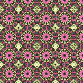 Pink Petunia Mandala 0056
