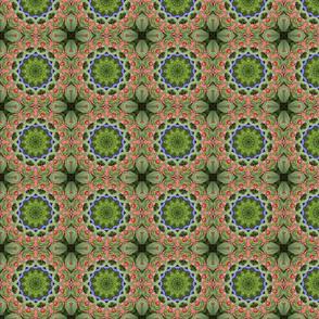 Green Weave Mandala 0962