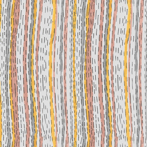 Imperfect Dotted Stripes