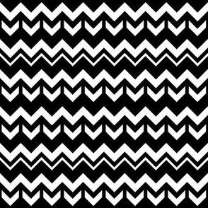 SouthWestern Zigzags W+B