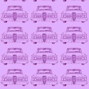 1959 Edsel Ranger or Corsair purple on violet