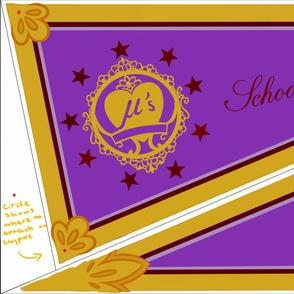Toujo Nozomi Valentine's set 2 flag