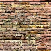 Pink bricks