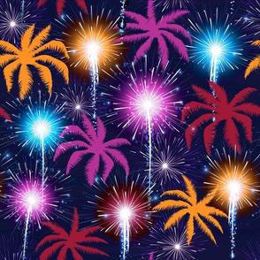 Palms & Fireworks