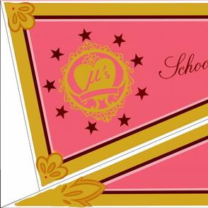 Yazawa Nico Valentine's set 2 flag