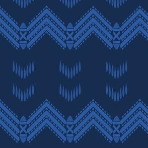 River Rain (Karayan ken Tudo) in Blue