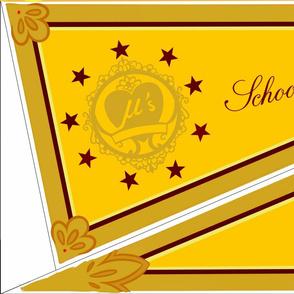 Hoshizora Rin Valentine's set 2 flag
