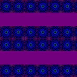 purple blue circles