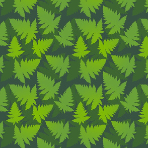 jungle ferns large scale