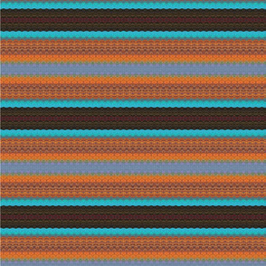 Warm Stripes Fabric