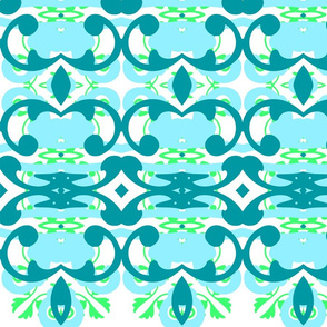 Tropical Water fabric