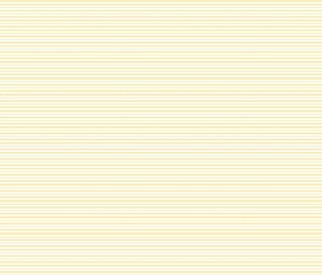 Pin stripes - pale yellow tiny stripes fabric by sunny_afternoon on Spoonflower - custom fabric
