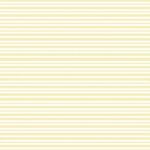 Pin stripes - pale yellow tiny stripes