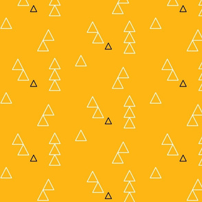 Mustard big triangles