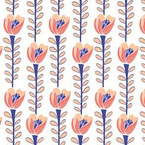 Floriade White & Coral