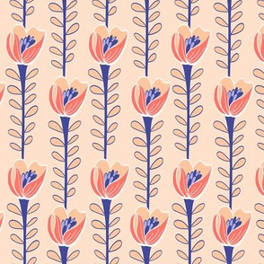 Floriade Coral & Blush