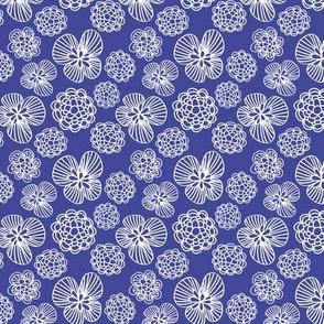 Miranda Floral Sapphire