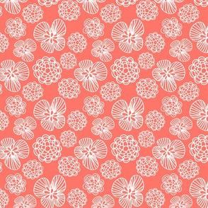 Miranda Floral Coral