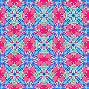 Patriotic Double Diamond Quilt-like