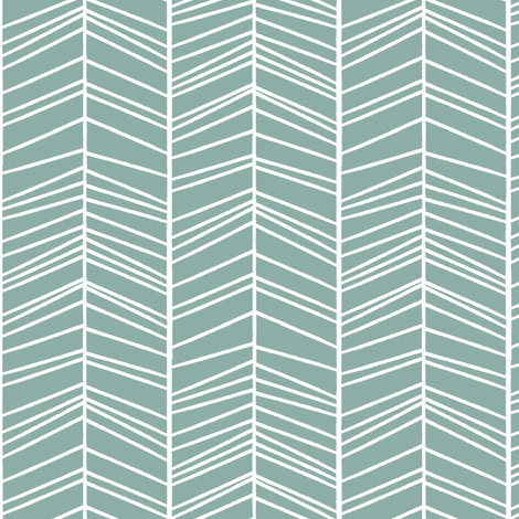 Blue lines fabric by autumndesign on Spoonflower - custom fabric