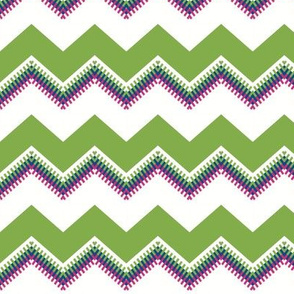 Summer Chevron (pokey Zag)