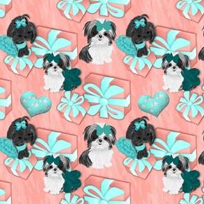 Shihtzu - Tiffany Coral - Matching 2