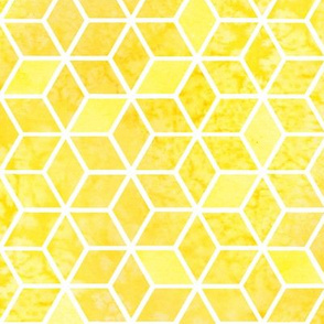Yellow Hexagons