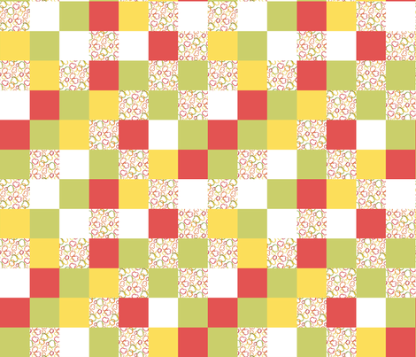 Cheater Quilt Sprinkle Bells fabric by sheila_marie_delgado on Spoonflower - custom fabric