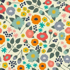 Playful Ditsy  Floral