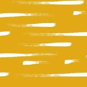 Stripes mustard