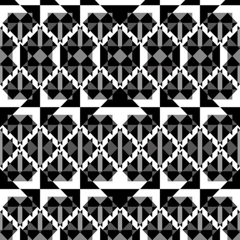 Avantgarde studs fabric by arrpdesign on Spoonflower - custom fabric