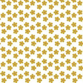 Summer flowers yellow