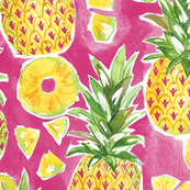 Pinapple Summer - Pink