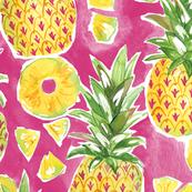Pinapple Summer - Pink