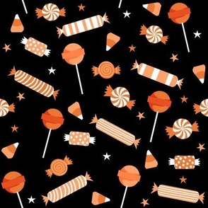 halloween fabric candy halloween design spooky scary fabric halloween design candy corn - Halloween Design