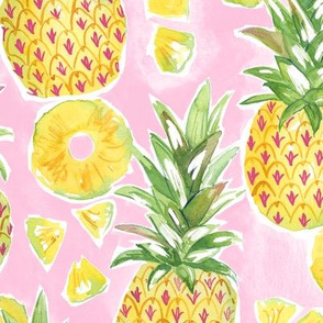 Pinapple Summer - light pink