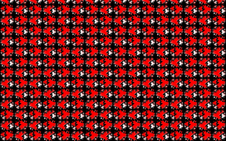 Canadiana (Tiled & Mirrored 3D) fabric by esheepdesigns on Spoonflower - custom fabric