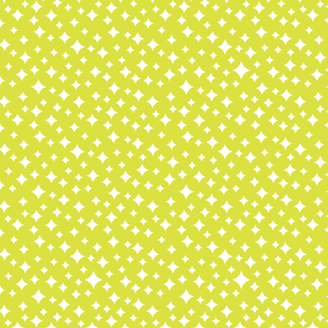 Airwaves lime atomic midcentury modern stars galaxy for Universe fabric