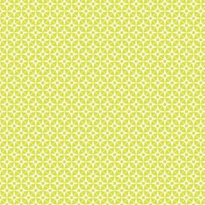 Wheelock* (Lime) || star starburst cross geometric atomic diamonds
