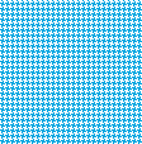 Houndstooth sky geometric midcentury modern 60s for Modern kids fabric