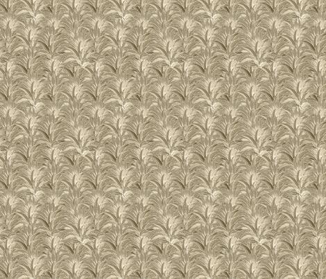 sepia_pineapple_tops fabric by leroyj on Spoonflower - custom fabric