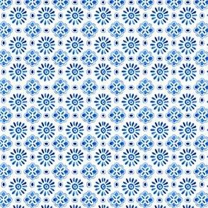 Blue flower stars micro