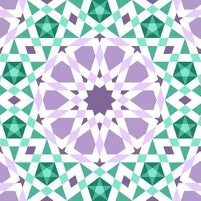 06524994 : UA5 V* : mauve violet + jade green