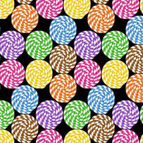 Spiral candies