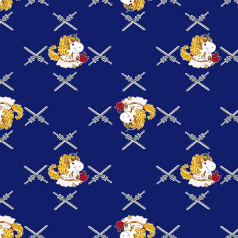 SheRaCorn Royal Blue fabric by costumewrangler on Spoonflower - custom fabric